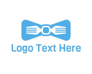 Waitress - Fork Tie logo design