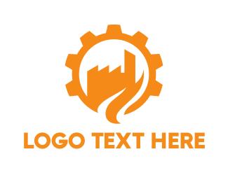 Work - Cogwheel City logo design