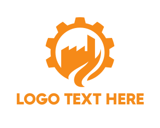 Cogwheel - Cogwheel City logo design