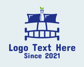 Interior - Bedroom Interior Design logo design
