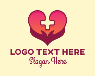 Medical - Medical Healthcare Heart Care logo design