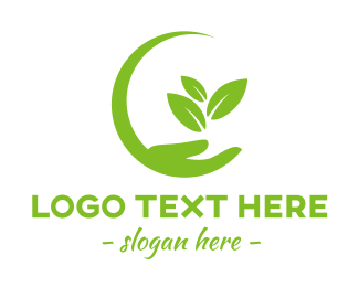 """Eco Care Hand"" by eightyLOGOS"
