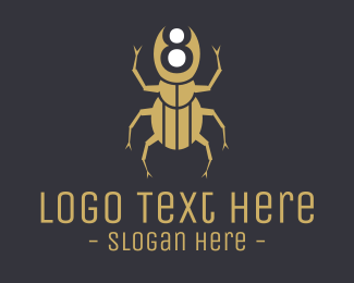 Malware - Beetle Number 8 logo design