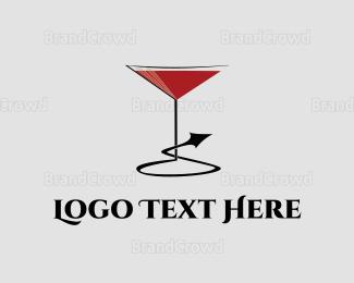 Naughty - Naughty Cocktail logo design