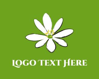 Landscape - Jasmine Flower logo design