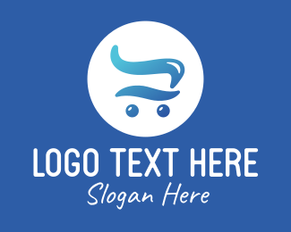 Shopping Cart - Liquid Shopping Cart logo design