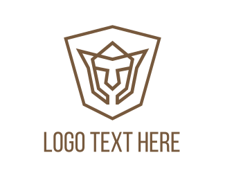 Youtube - Shield Face logo design