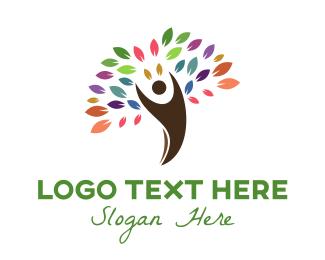 """Colorful Arborist Human Tree"" by shad"