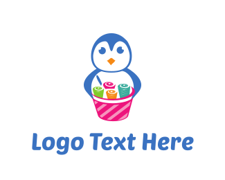 Roll - Ice Cream Rolls logo design