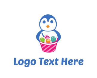 Ice Cream - Ice Cream Rolls logo design