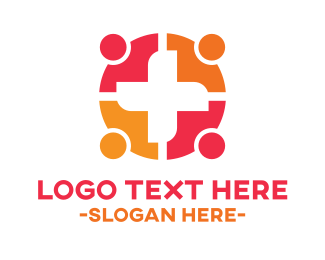 Humanitarian - Community Medical Hospital Doctors logo design