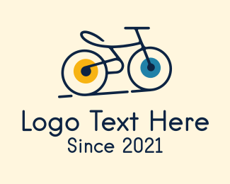 Ride - Road Bike Cycle logo design