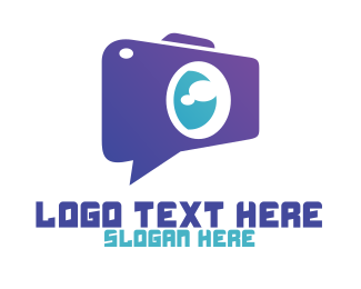 Video Chat - Video Chat App logo design