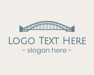 Sydney - Sydney Harbour Bridge logo design