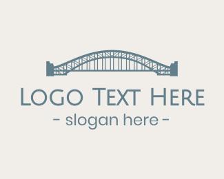 Truss - Sydney Harbour Bridge logo design