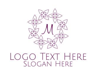 Bloom - Spring Floral Lettermark logo design