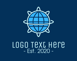 Scientist - Global Nuclear Energy logo design