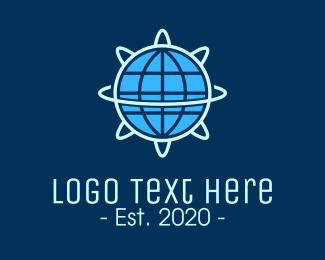 Scientist - Global Nuclear Energy logo design
