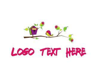 Theme Park - Bird & Branch logo design
