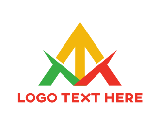 Logistics - Colorful Futuristic A logo design