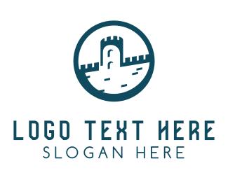 Concreter - Castle Circle logo design