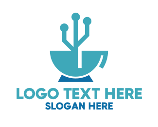 Technological Coffee Logo