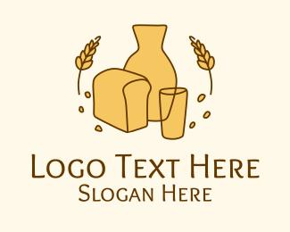 Restaurant - Organic Bread Bakery logo design
