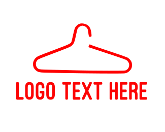 Hanger - Red Hanger logo design