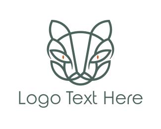 Bobcat - Abstract Puma logo design
