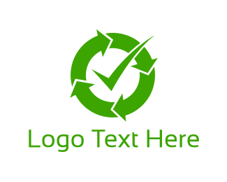 Complete - Recycle Check logo design