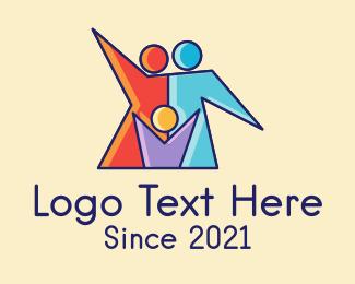 Health Care - Colorful Family Care logo design