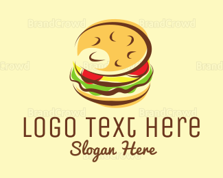Food Truck - Burger Restaurant logo design
