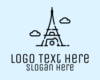 Giza - Paris Photographer logo design