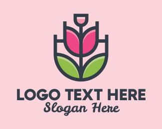 Lotion - Growing Rose Fragance logo design