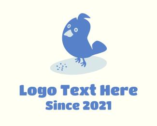 Blue Bird - Blue Bird Mascot logo design