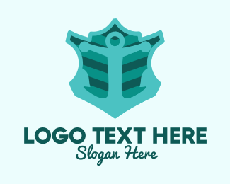 Travelling - Navy Anchor Emblem  logo design