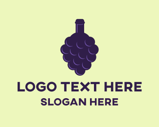 Grape - Grape Bottle logo design