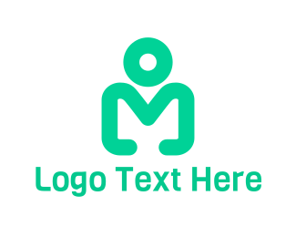 Simple - Simple Modern Person Figure logo design
