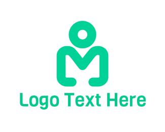 Simple - Simple Modern Person Figure logo design