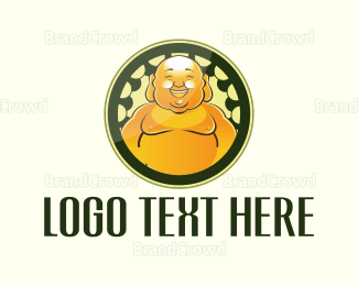 Buddhism - Buddha Circle logo design