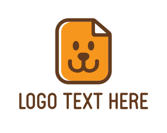Smile - Dog Face logo design