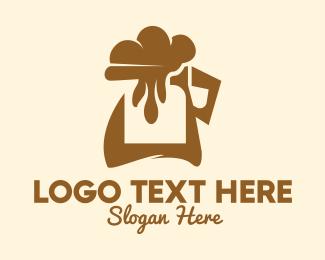 Drip - Coffee Foam Jug  logo design