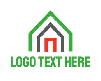 Green Triangle - Green Triangle House logo design