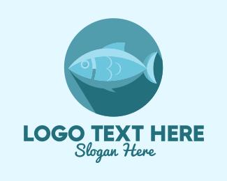 Fishing Gear - Tuna Fish logo design