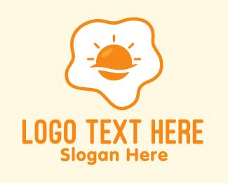 Morning - Sunny Side Up Egg logo design