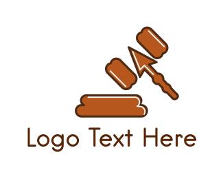Court - Click Judge logo design