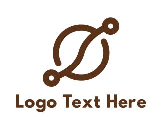 Hot Chocolate - Coffee Bean Tech logo design