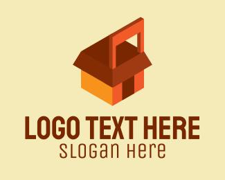 Online Shop - Multicolor Shopping Cart logo design