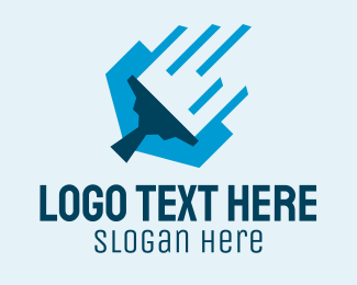 Disinfect - Modern Cleaning Squeegee logo design