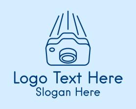 Camera - Fast Camera Photography logo design
